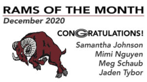 rams of month 2020 12