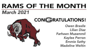 ram of the month nominations 2021 04 16